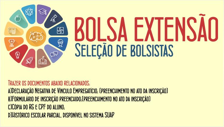 Bolsa Extensão - Seleção de bolsistas - Projeto práticas extensionistas