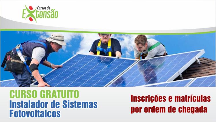 Resultado - Curso Gratuito - Instalador de Sistemas Fotovoltaicos