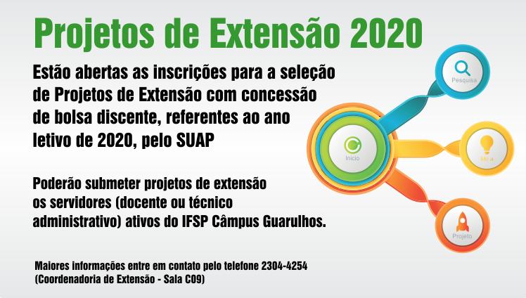 Projetos de Extensão 2020