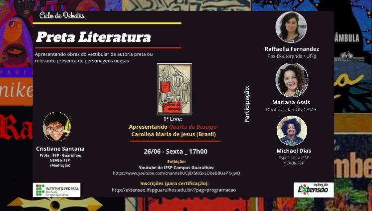Lives - O Ciclo de Debates - Preta Literatura