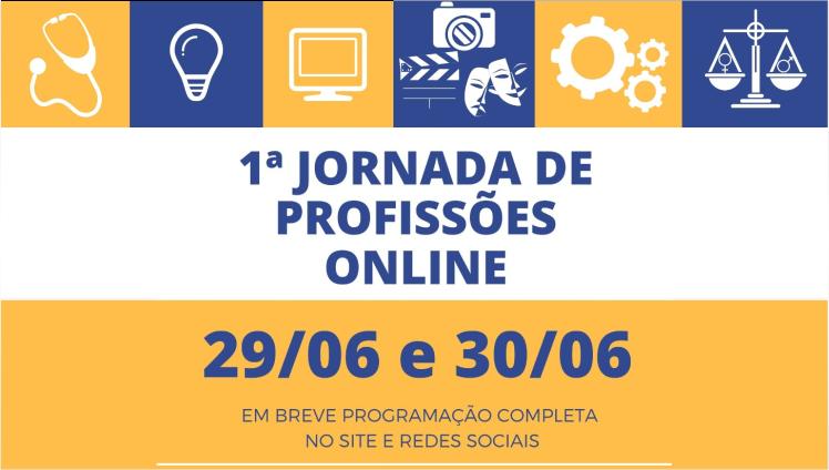 1ª Jornada de Profissões Online