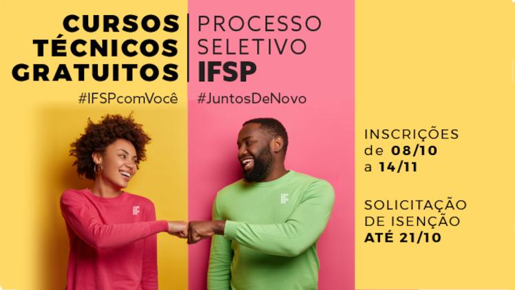 Cursos Técnicos - Processo Seletivo - Inscrições de 08/10 a 14/11