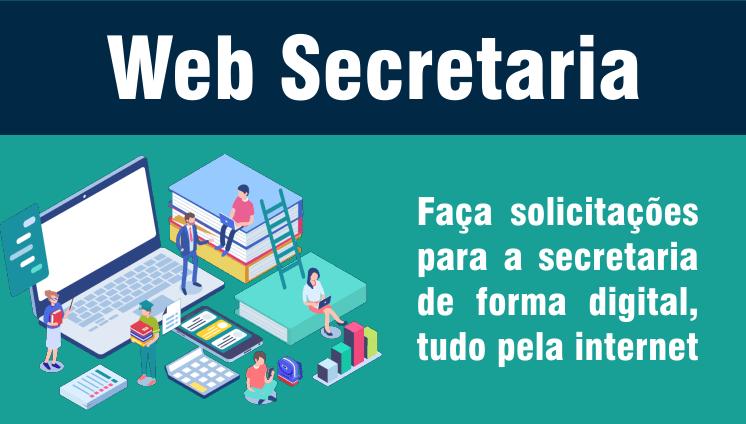 WEB SECRETARIA - Requerimento eletrônico